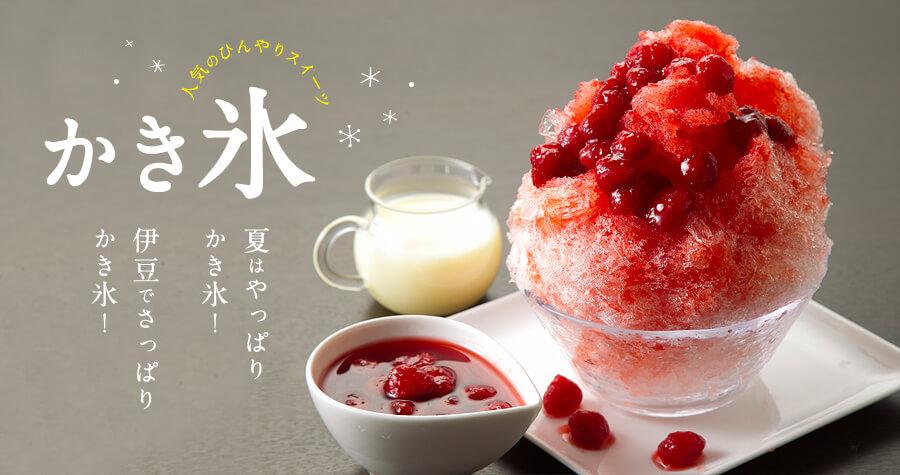 【伊豆】夏はやっぱりかき氷!伊豆でさっぱりかき氷!