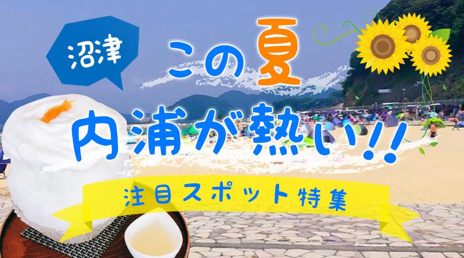 この夏、内浦が熱い!沼津市内浦の注目スポット紹介!