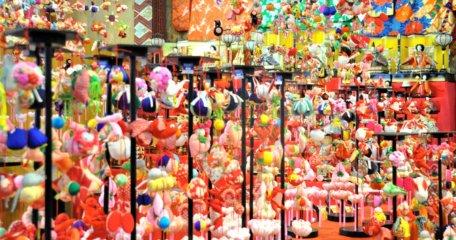 つるし飾り雛展 開催中です